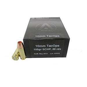 PNW Arms 10mm TacOps 140gr Solid Copper HP /20 134-R001