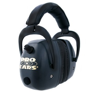 Pro Ears Pro Mag Gold NRR 30 Black GSDPMB