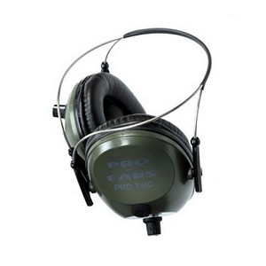 Pro Ears Pro Tac Plus Gold Green, Behind the Head GSPT300GBH