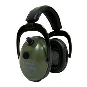 Pro Ears Pro Tac Plus Gold Green, Lithium 123 Batt GSPT300LGREEN