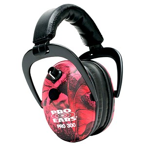 Pro Ears Pro 300 NRR 26 RealTree Pink Camo P300PC