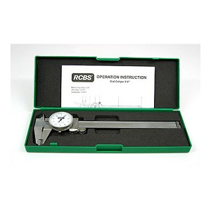 RCBS Stainless Steel Dial Caliper 87305