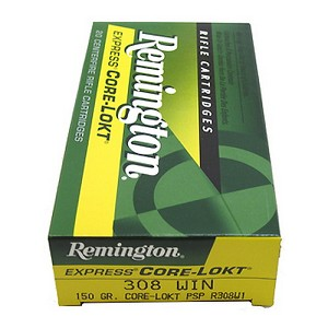 Remington 27842 308 Win 150gr PSP CoreLo R308W1