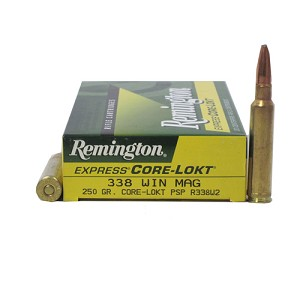 Remington 338 Win Mag 250gr PSP CoreLokt/20 R338W2