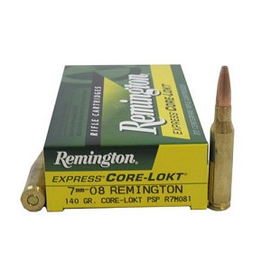 Remington 7mm-08Rem 140gr PSP Core-Lokt/20 R7M081