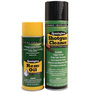 Remington Accessories Rem Oil & Shotgun Cleaner,10 oz. aerosols 18131