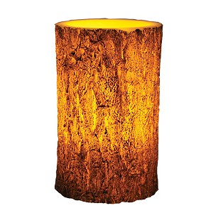 "Rivers Edge Products 4""x6"" Led Tree Bark Candle 1012"