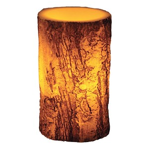 "Rivers Edge Products 4""x6"" Led  Birch Bark Candle 1014"