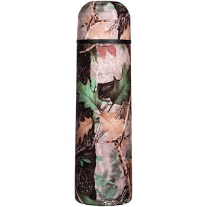 Rivers Edge Products C B Camo Ss 1 Liter Vacuum Bottle 1068