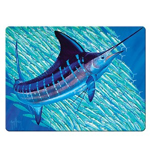 Rivers Edge Products Marlin Glass Cutting Board - Guy Harvey 1242