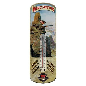 Rivers Edge Products Winchester Hunter Tin Thermometer 1344