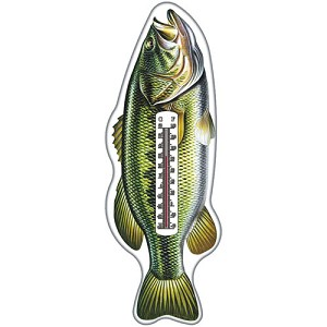 Rivers Edge Products Bass Tin Thermometer 1394