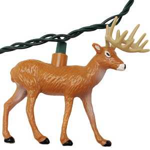 Rivers Edge Products 10 Pc Deer Light Set 429