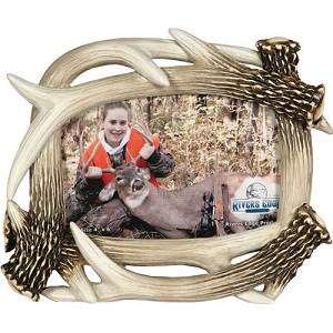 "Rivers Edge Products 4""x6"" Antler Picture Frame 477"