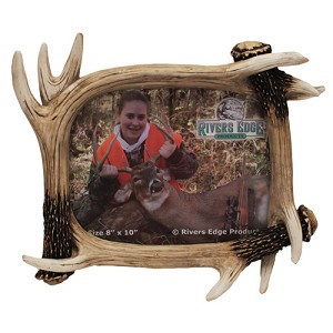 "Rivers Edge Products 8""x10"" Antler Picture Frame 478"