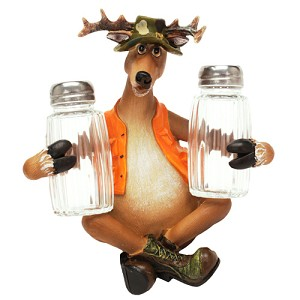 Rivers Edge Products Deer Salt And Pepper Shaker 532