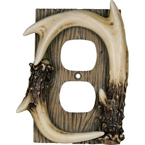 Rivers Edge Products Deer Antler Receptacle Cover 550