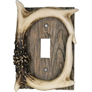 Rivers Edge Products Deer Antler Single Switch Cover 551