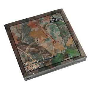 Rivers Edge Products Camo Napkins 20 Pack 631