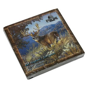 Rivers Edge Products Deer Napkins 20 Pack 632