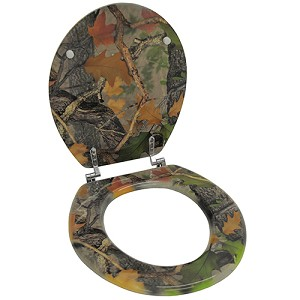 Rivers Edge Products Realtree Apg Camo Toilet Seat 744