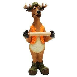 Rivers Edge Products Standing Deer Toilet Paper Holder 801