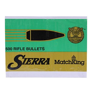 Sierra Bullets .30/7.62 (.308) 155gr HPBT MP/500 2156C