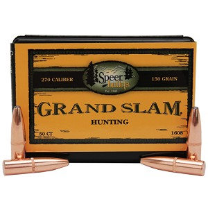 Speer Grand Slam 270 150Grain SP/50 1608