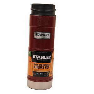 Stanley Classic One Hand Vacuum Mug 16oz Red 10-01394-059