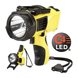 Streamlight Waypoint w/ 12V DC, Yellow, Clam  44904