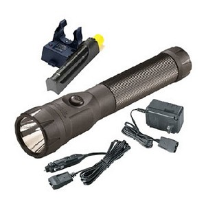 Streamlight PolyStinger LED with 120V AC/DC - Black 76132