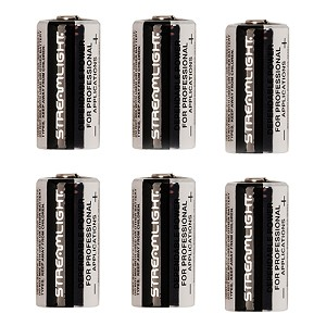 Streamlight Lithium Batteries (6) pack 85180