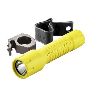 Streamlight PolyTac LED Helmet Lighting Kit-Yellow,CP 88854