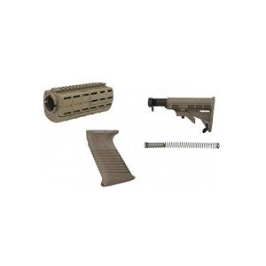 Tapco Intrafuse AR15 Stock Set FDE 16815