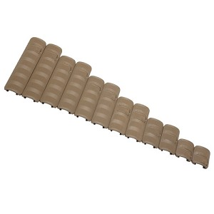 Troy Industries Rail Cover Package 14pc Tan SCOV-PCK-14TT-00