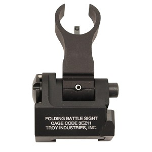 Troy Industries Front Trit HK Folding Sight BLK SSIG-FBS-FHBT-02