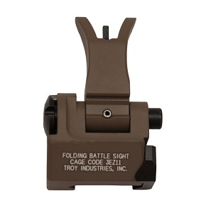 Troy Industries Front Folding M4 Style Sight FDE SSIG-FBS-FMFT-00