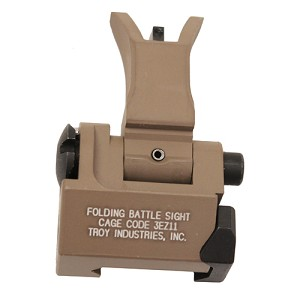 Troy Industries Front Trit M4 Folding Sight FDE SSIG-FBS-FMFT-01