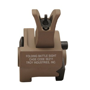 Troy Industries Front M4 Fld Gas Block Sight FDE SSIG-GBF-0MFT-00