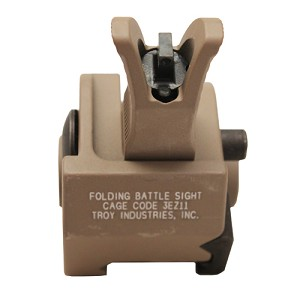 Troy Industries Front Trit M4 Foldng GB Sight FDE SSIG-GBF-0MFT-01