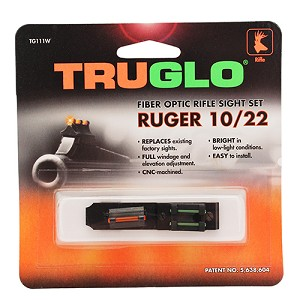Truglo Rifle Set - Ruger 10/22 TG111W