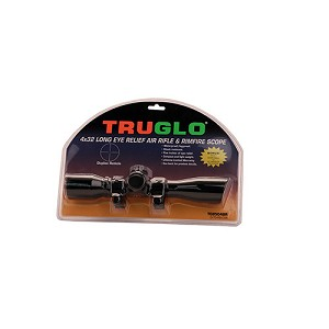 "Truglo Scp 4x32 w/ 3/8"" Rings Blk TG8504BR"