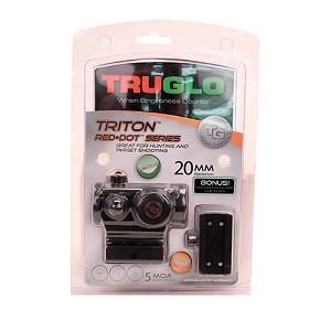 Truglo Red-dot 20mm High/low Blk TG8020TB