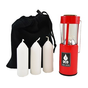 UCO Original Candle Lantern Value Pack Red L-C-VPUCO-RED