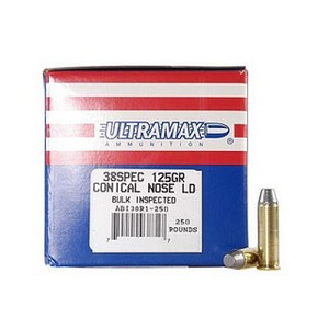 Ultramax 38 Spl 125Gr. Conical Nose/50 38R1