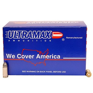 Ultramax 9mm 125gr RNL /250 ABI9R1-250