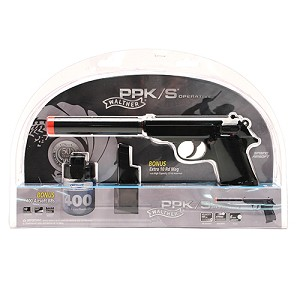 Umarex USA Walther PPK/S Operative Kit Black 2272042