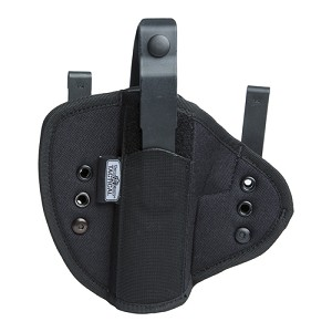 Uncle Mikes IWB Tuckable Holster Black,Size 0 Ambi,CP 55000