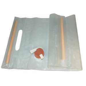 Ultimate Survival Technologies Water Carrier Roll-Up 10L, Clear 20-02131-10