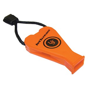 Ultimate Survival Technologies JetScream Whistle, Orange  20-300-01